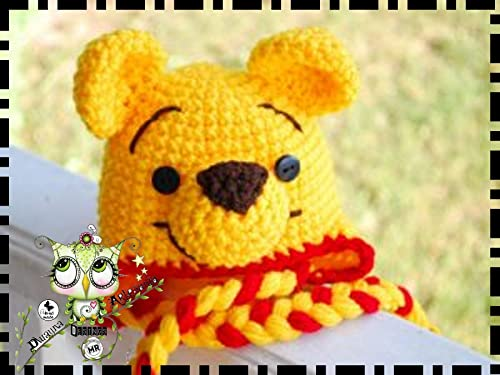 Gorro Winnie The Pooh AMIGURUMI REYES MAGOS REGALO NAVIDAD ...