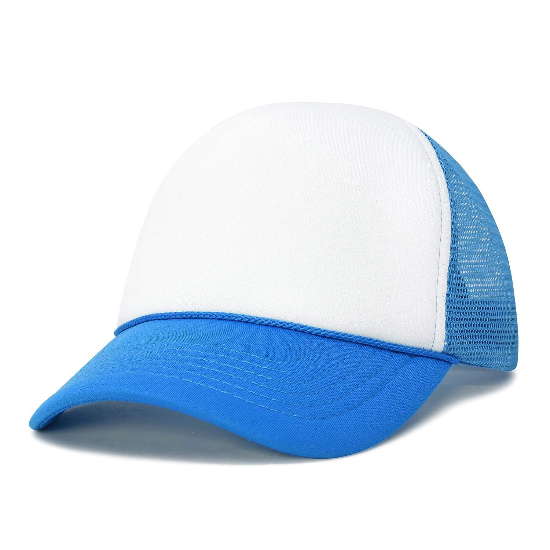 eba6505d DALIX Neon Trucker Caps Adjustable Snapback Hat