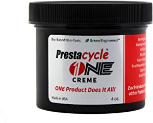Prestacycle One Creme | Lubricant | Cleaner | Degreaser | Restorer | Polish | Protectant | Inhibitor | Leather Conditioner | Anti-Seize | All in One