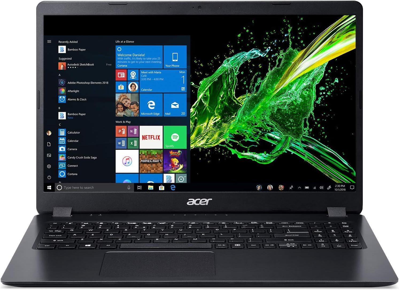 Acer Aspire 3 A315-34-P938 - Ordenador portátil de 15,6 Pulgadas FHD (Intel Pentium Silver, 8 GB de RAM, SSD de 128 GB + HDD de 1 TB, Intel HD Graphics, Windows 10)