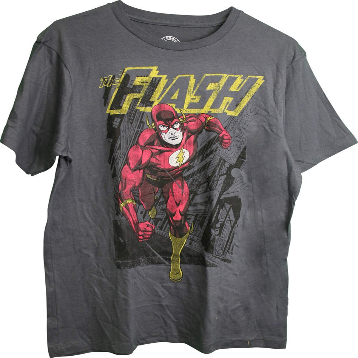 The Flash Knockout DC Comics Licensed Adult T-Shirt