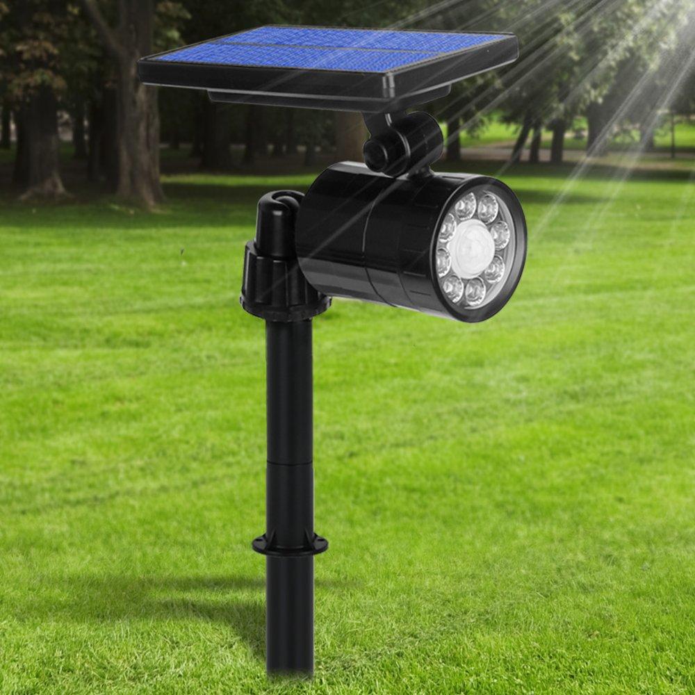 Lampe Solaire Extérieur Ultra Puissante Détecteur de Mouvement 4 Modes, Spot Solaire 8 LED Etanche IP65 Eclairage Exterieur Sans Fil 360° Reglable Lumière Solaire Sécurité pour Jardin, Garage product image