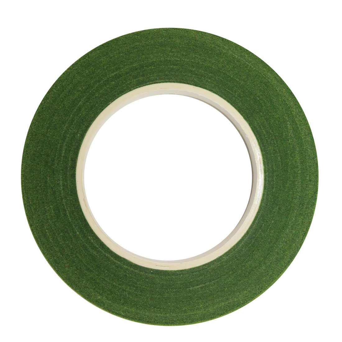 DECORA 1 roll 1/2-inch by 30 Yard Green Floral Tape for Bouquet Stem Wrap Floral Arranging Craft Projects Corsages, Wedding Bouquet 4336861556