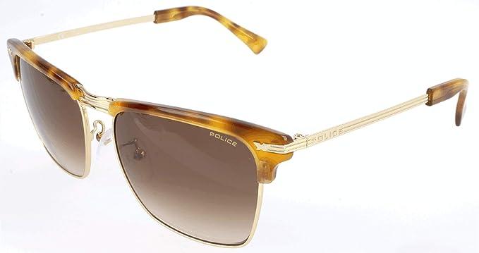 Police Sonnenbrille SPL142M Gafas de sol, Amarillo (Gelb ...
