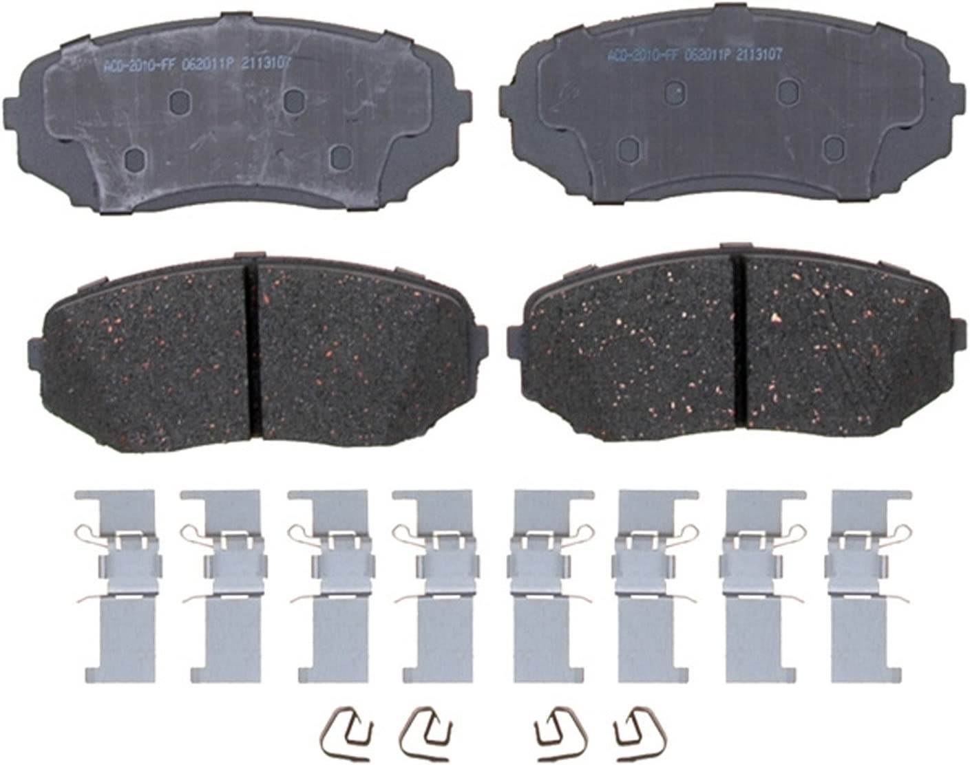 ACDelco 14D1367CH Front Ceramic Brake Pads