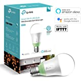 TP-Link Smart LED Light Bulb, Wi-Fi, Dimmable White, 60W Equivalent, Works with Amazon Alexa and Google Assistant, 1-Pack (LB110)