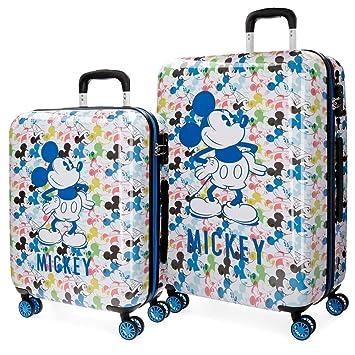 Disney Colors Juego de Maletas, 69 cm, 119 litros: Amazon.es ...