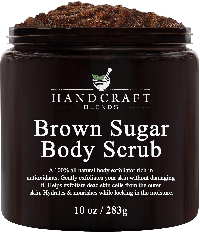 Amazon Com Handcraft Brown Sugar Body Face Scrub All Natural