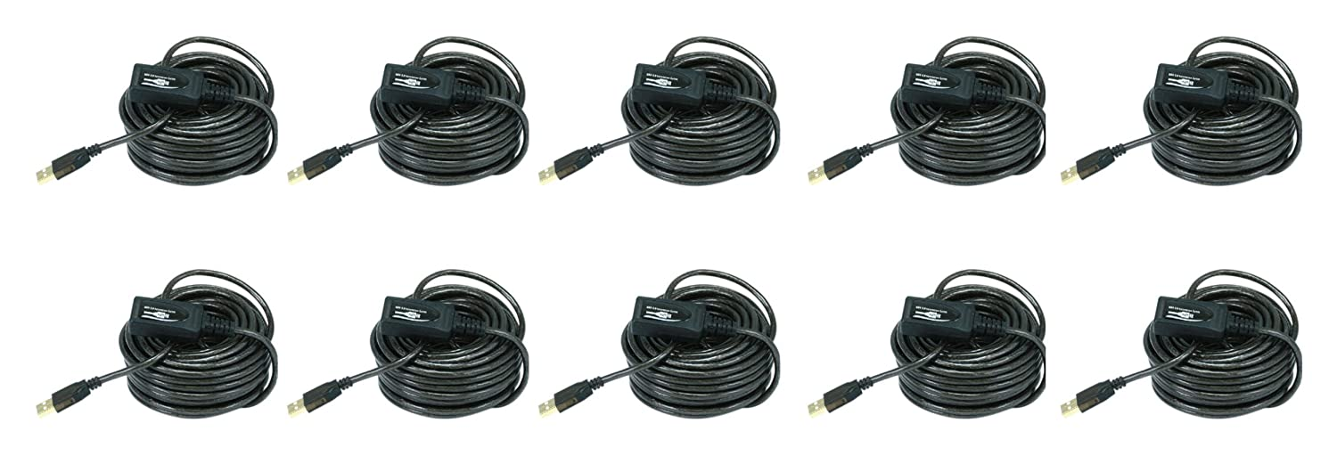 5 PCS 10M USB 2.0 A Male to A Female Active Extension Repeater Cable 32 Feet CNE607023