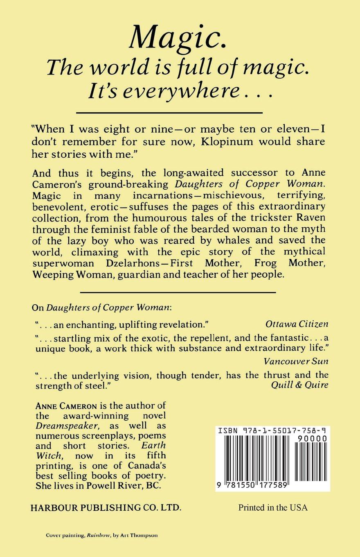 Dzelarhons: Mythology Of The Northwest Coast: Anne Cameron: 9781550177589:  Amazon: Books