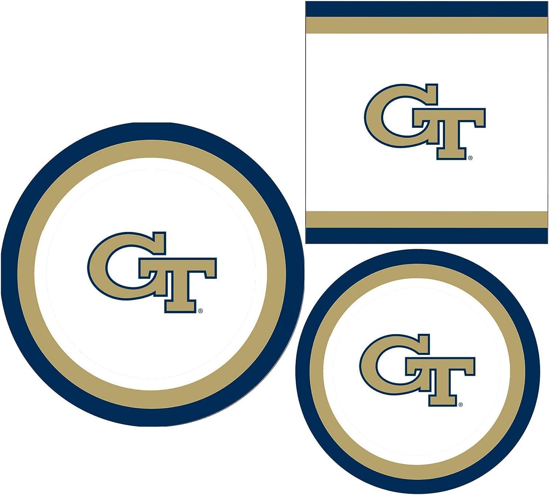 Georgia Tech Yellow Jackets Acrylic Coaster 2-Pack