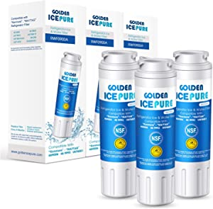 UKF8001 Refrigerator Water Filter, NSF 42 Certified Replacement Refrigerator Water Filter, Compatible with Maytag UKF8001AXX-750, UKF8001AXX-200, Whirlpool 4396395, EveryDrop Filter 4 and more (3PACK)