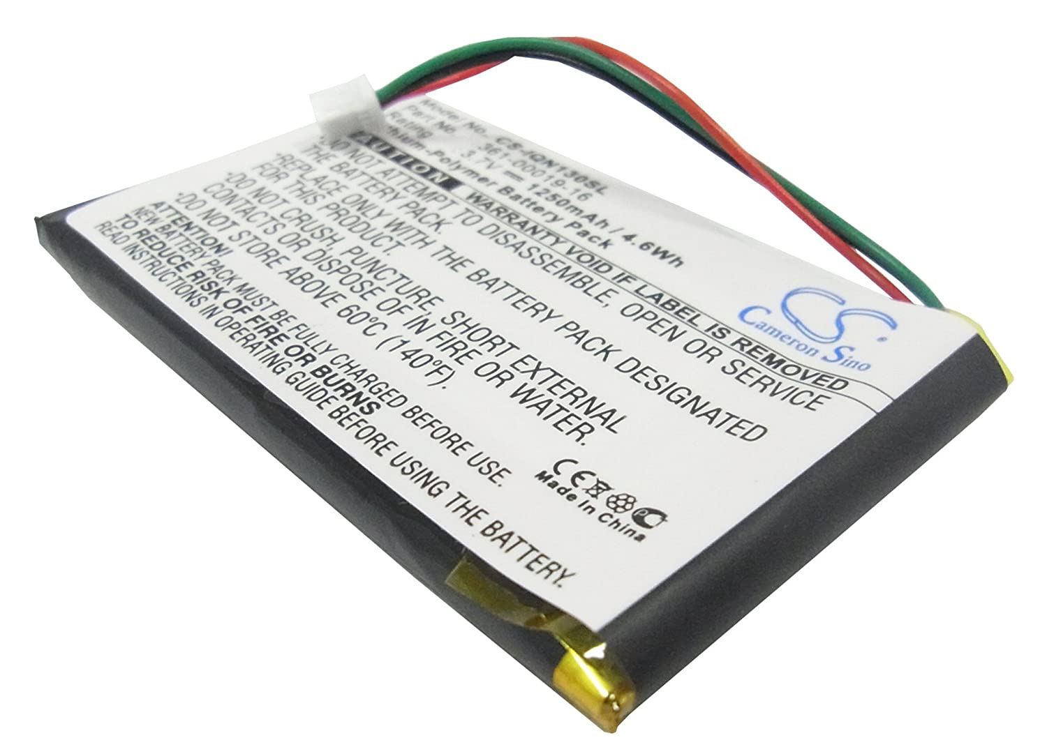 1250mAh Battery For Garmin Nuvi 1300, Nuvi 1350, Nuvi 1350T, Nuvi 1370 VINTRONS Digi-Tech CS-IQN130SL