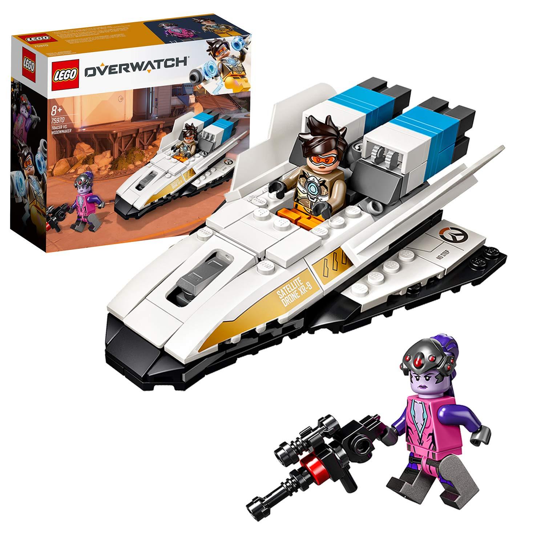 LEGO - Overwatch Tracer vs. Widowmaker Set de construcción con ...