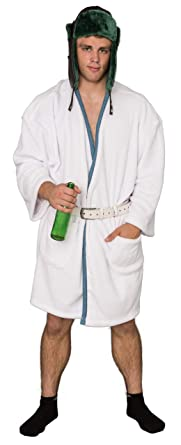 christmas vacation cousin eddie white robe and belt costume set - Eddie Christmas Vacation