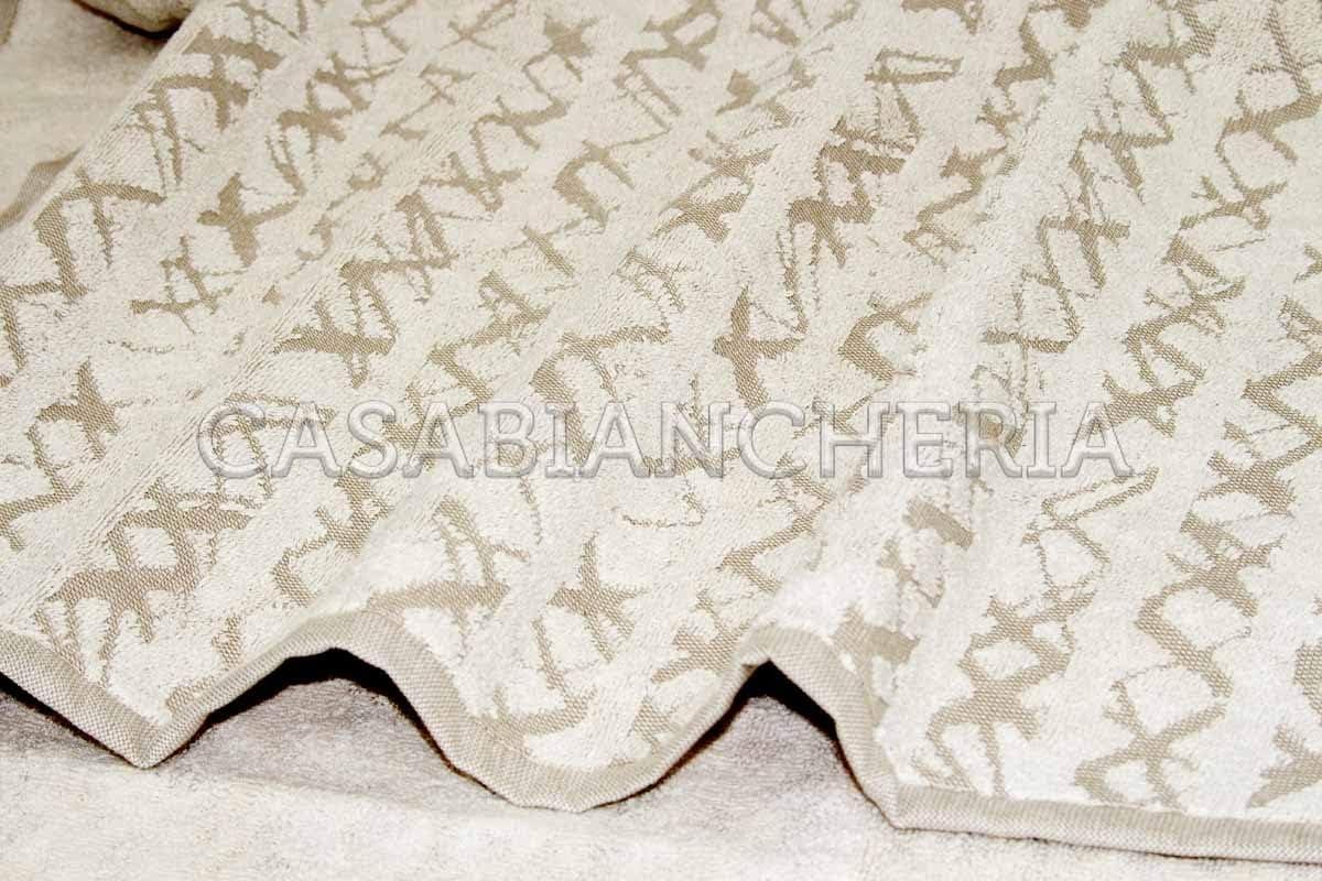 Gabel Coppia Asciugamani di Spugna Naturae Bamboo
