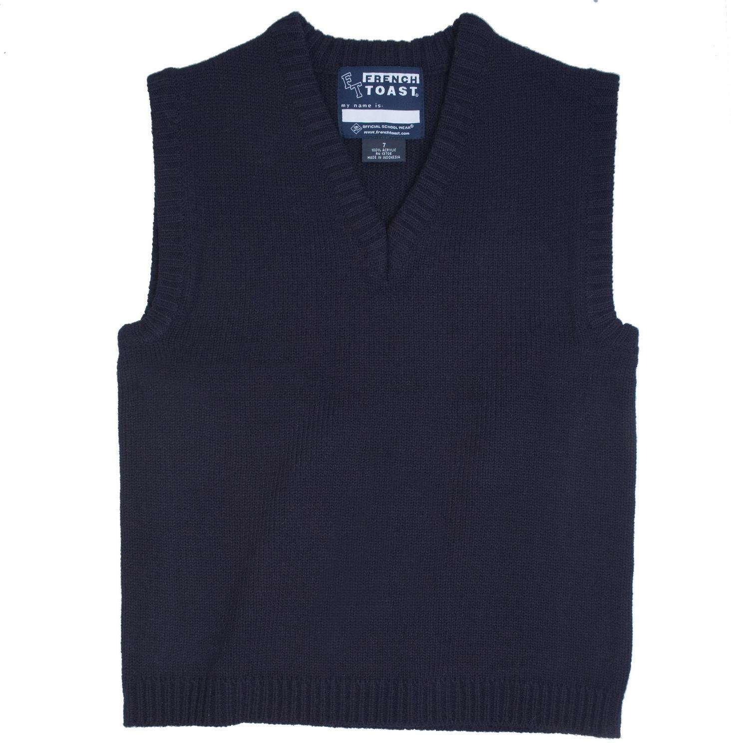 French Toast School Uniform Boys V-Neck Sweater Vest