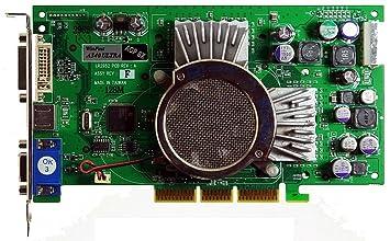 128 MB WinFast A340 Ultra AGP8 X VGA + DVI + TV AGP ...