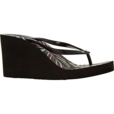 2d26e2ced38c Emporio Armani Wedge Flip Flops (5 UK 38 EUR)  Amazon.co.uk  Shoes ...