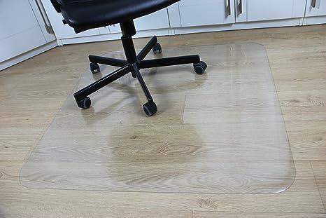 Amazon Com Office Desk Chair Mat For Hard Wood Floor Pvc Clear