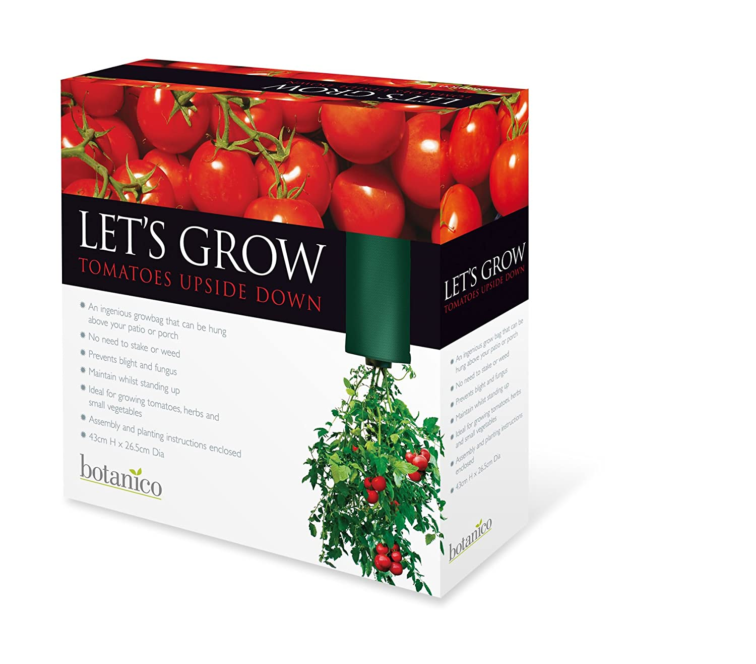 Upside Down Tomato Planter Amazon Garden & Outdoors