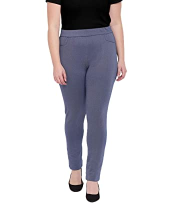 c081df7808e The Pink Moon Plus Size Blue Slimming Jeans for Women