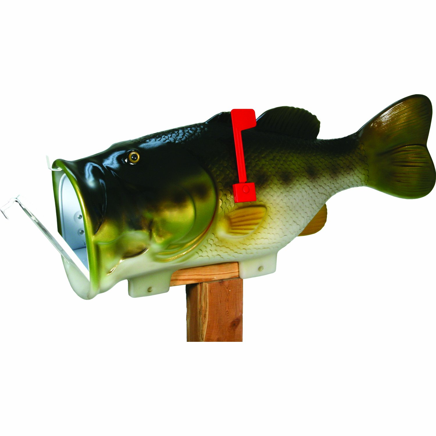 REP Giant Bass Mailbox         Exclusive Color 35 In.  Long by River's Edge Products