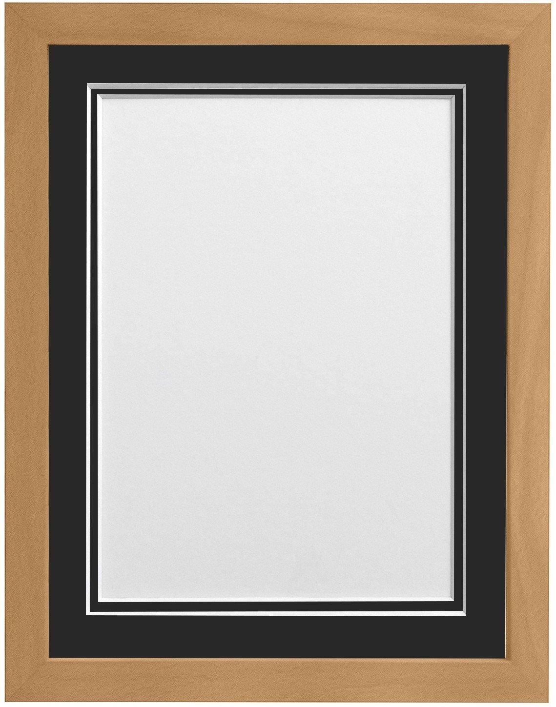 Frames by Post H7 Bilderrahmen mit weißem Passepartout für Bildgröße ...