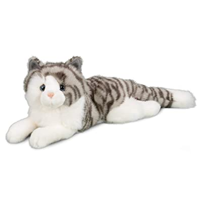Douglas Smokey Gray Cat Plush Stuffed Animal: Toys & Games