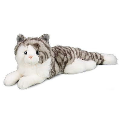 Douglas Smokey Gray Cat Plush Stuffed Animal: Toys & Games