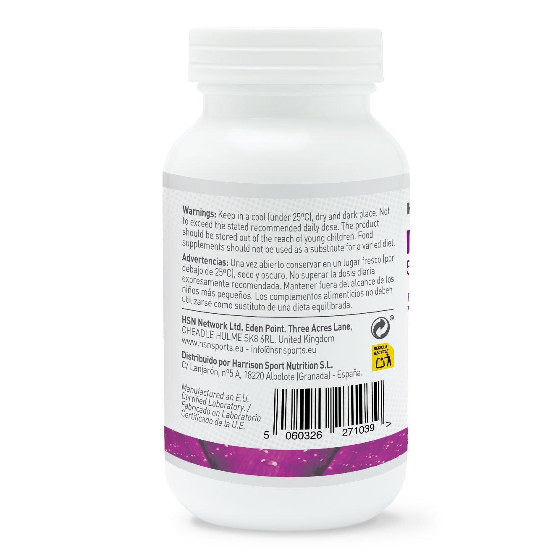 L-Triptófano 500mg de HSN Essentials - Con Vitamina B3 y B6 - Mejora el Estado de Ánimo y Fomenta el descanso nocturno - Para Dormir Mejor - 120 veg caps: ...