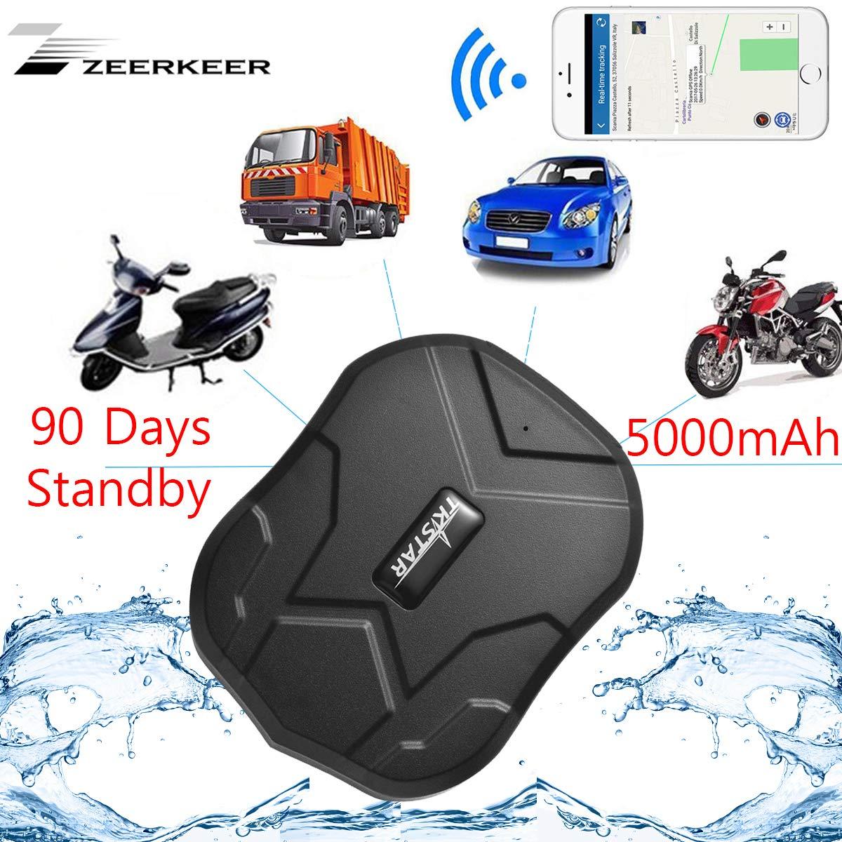 ZEERKEER GPS Tracker Seguimiento en Tiempo Real ...