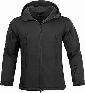ef22028a06b8 Tactical Jacket for Men Water Repellent Windproof Coat Big Tall Mens Fleece  Lined Softshell Jackets