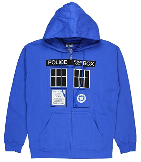 Doctor Who Mens Tardis Doors Hoodie (Medium)  sc 1 st  Amazon.com & Amazon.com: Doctor Who Mens Tardis Doors Hoodie (Medium): Clothing