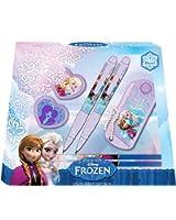 Disney La Reine des neiges Fille Boite Cadeau Papeterie - mauve