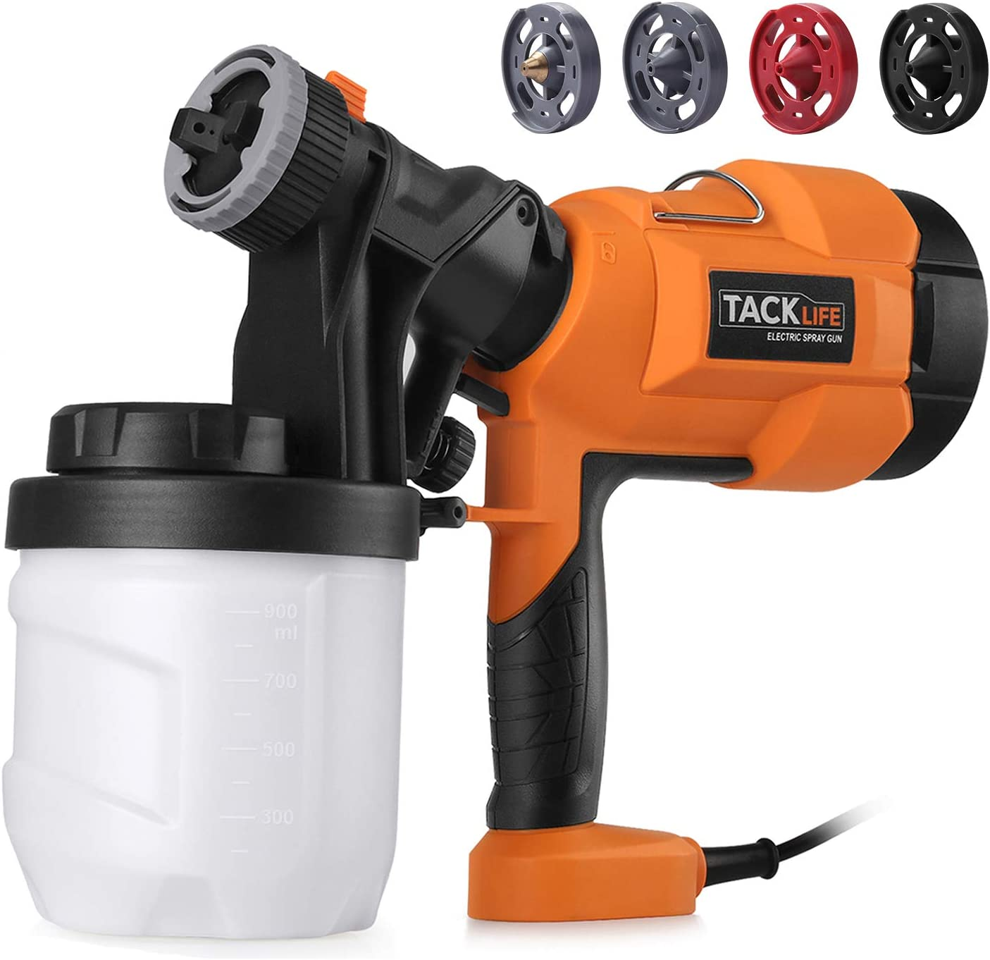 TACKLIFE High Power HVLP Home Electric Paint Sprayer