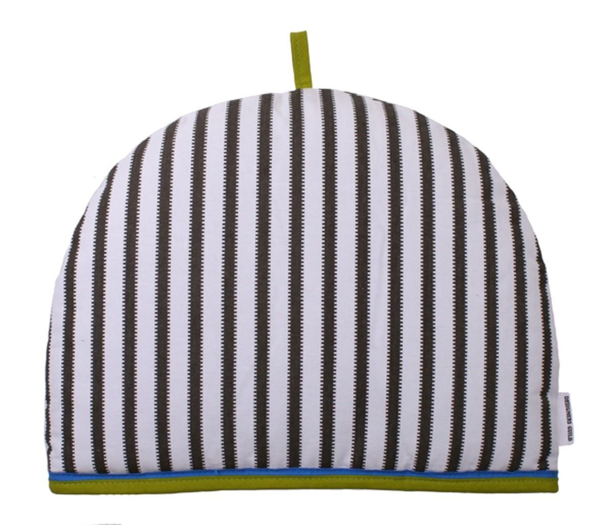 Ulster Weavers Franchini Grey Stripe Cotton Tea Cosy Cozie