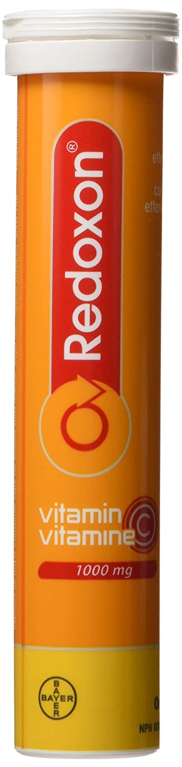 Amazon.com: Redoxon Orange Vitamin C Effervescent Tablets 15 Orange Effervescent Tablets: Health & Personal Care