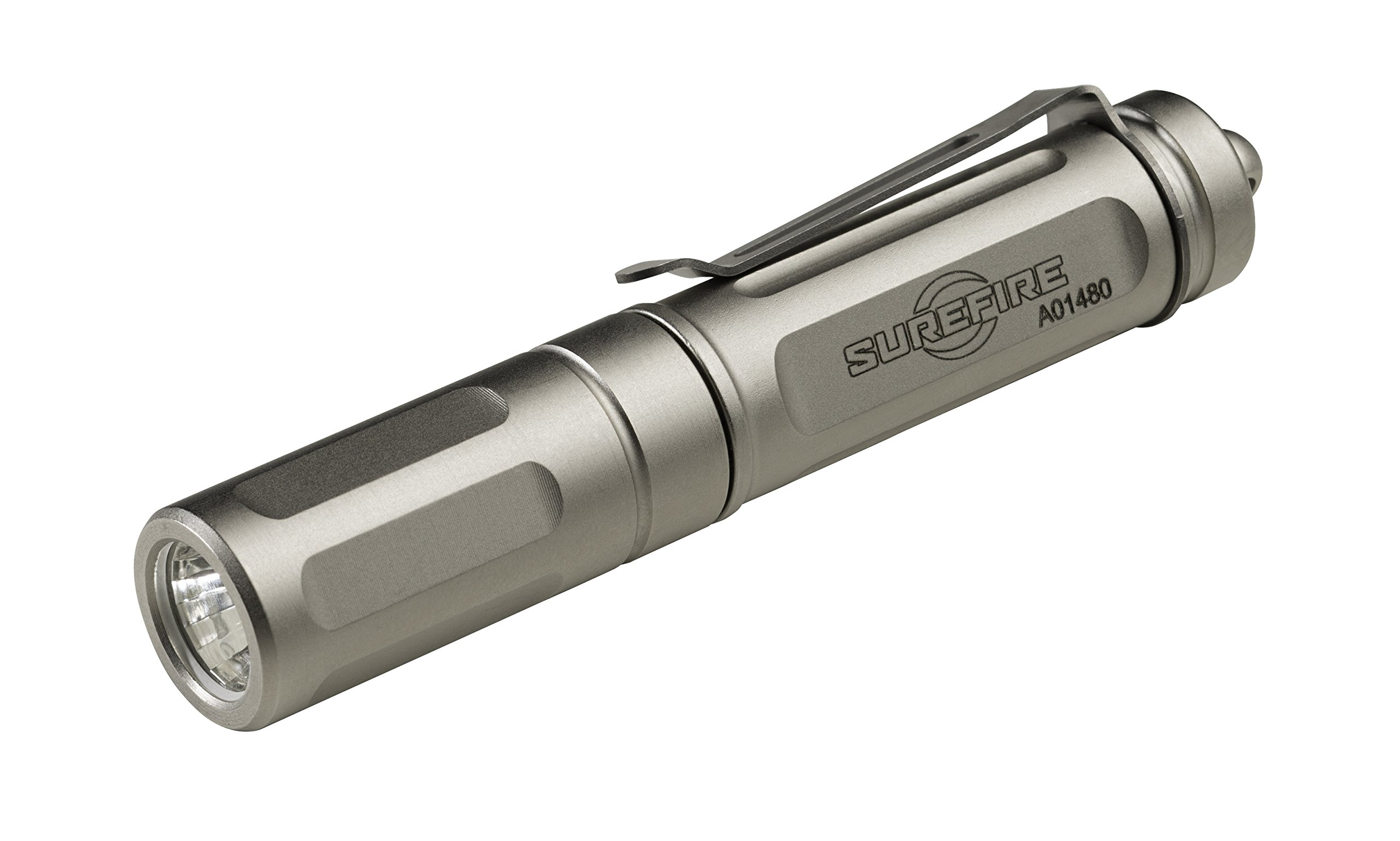 SureFire Titan Plus Ultra-Compact Variable-Output LED Keychain Light, Silver matte by SureFire (Image #2)