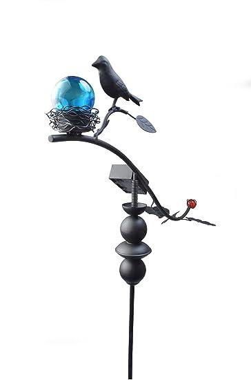 Amazing Moonrays 92549 Solar Powered Garden Dancing Bird LED Stake Light