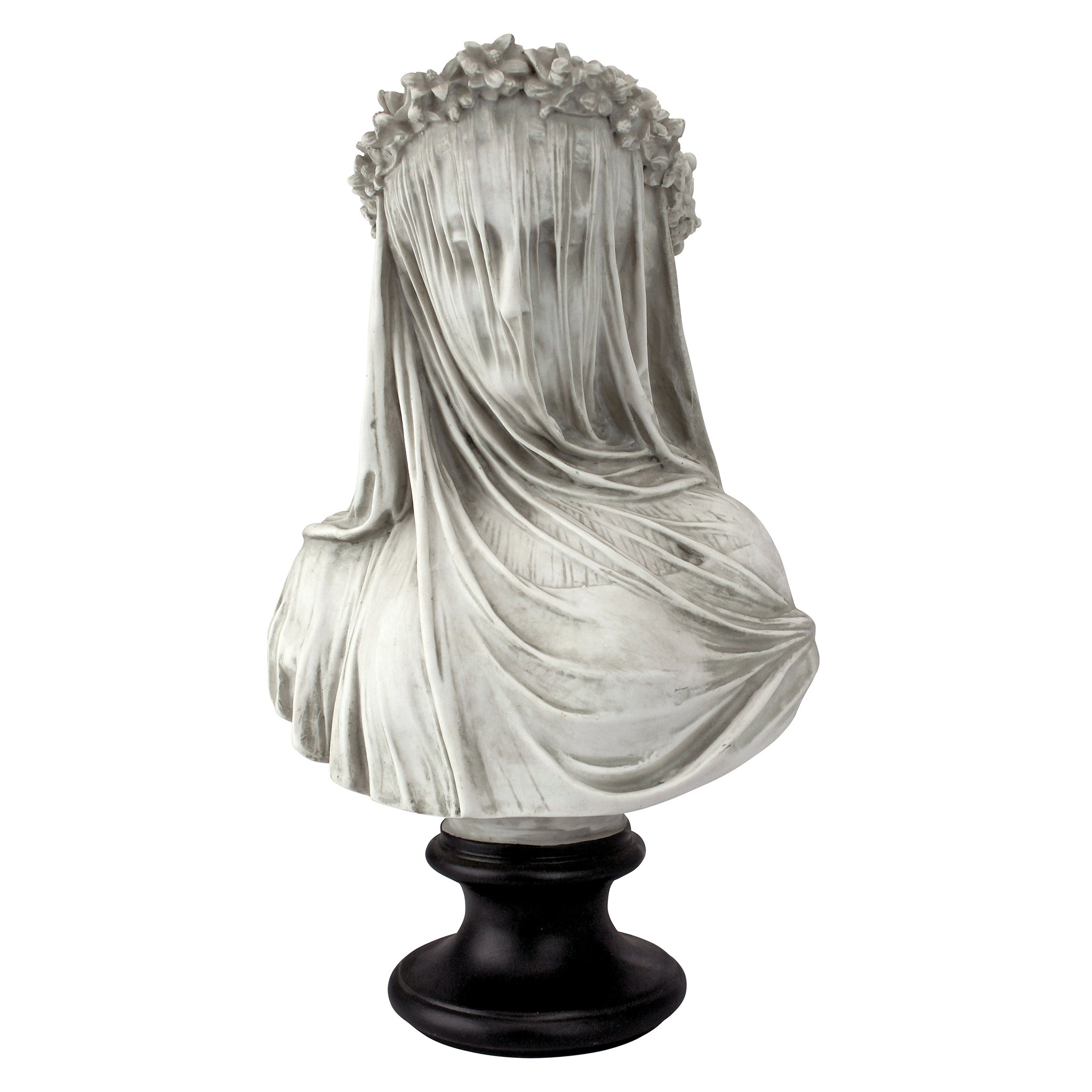 Design Toscano The Veiled Maiden Sculptural Bust by Design Toscano
