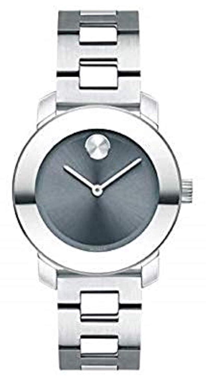 Movado Bold, Stainless Steel Case, Blue Dial, Stainless Steel Bracelet, Women, 3600436