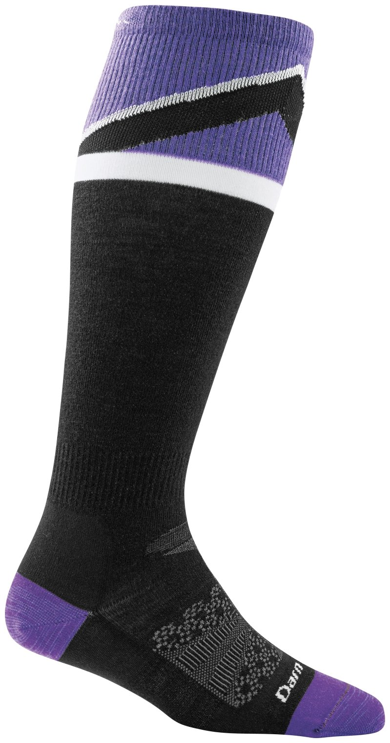 Darn Tough Mountain Top Light Sock - Women's Purple Medium