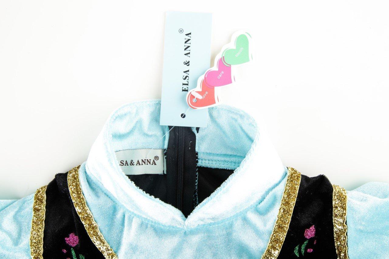 ELSA /& ANNA/® Ragazze Principessa abiti partito Vestito Costume IT-Dress308-SEP IT-SEP308, 2-3 Anni