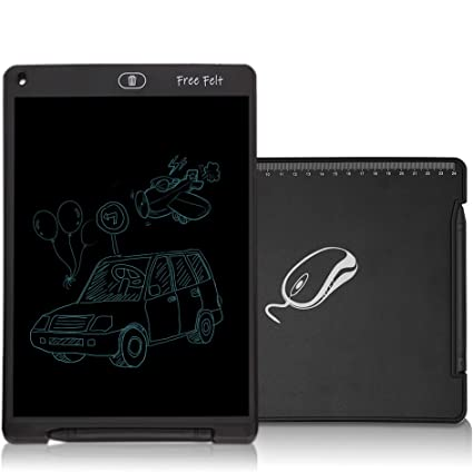 blac 12 inch LCD e-Writer Tablet Writing Drawing Memo Message Black Boogie Board