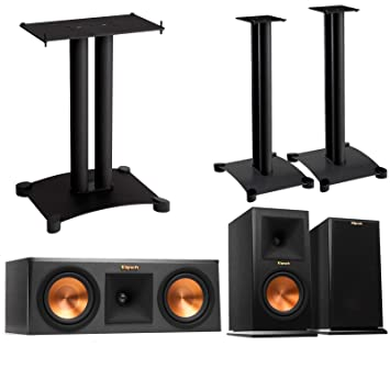 Klipsch Reference Premier 30 Speaker System With Stands 1 Pair RP160M Bookshelf Speakers