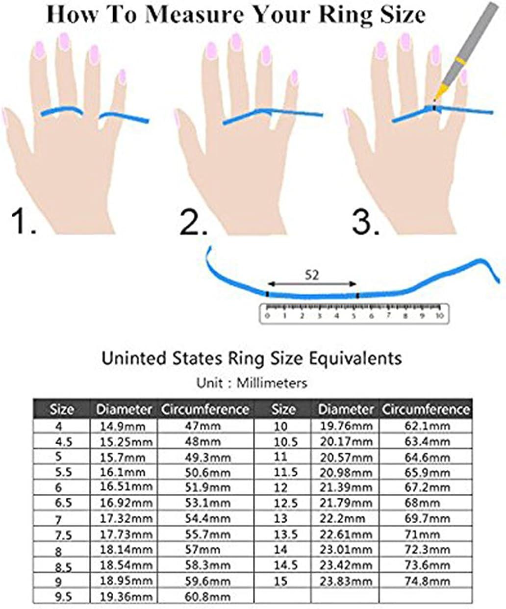 Tanyoyo 8mm Blue Black Dragon Pattern Beveled Edges Celtic Rings Jewelry Wedding Band For Men 7-14