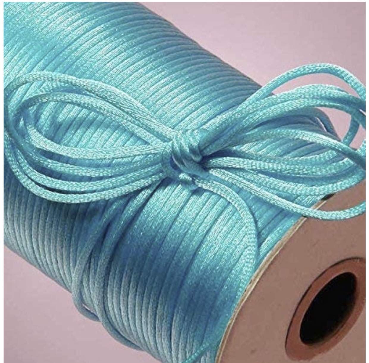 Purple Ben Collection 2mm X 100 Yard Rattail Satin Nylon Trim Cord Chinese Knot