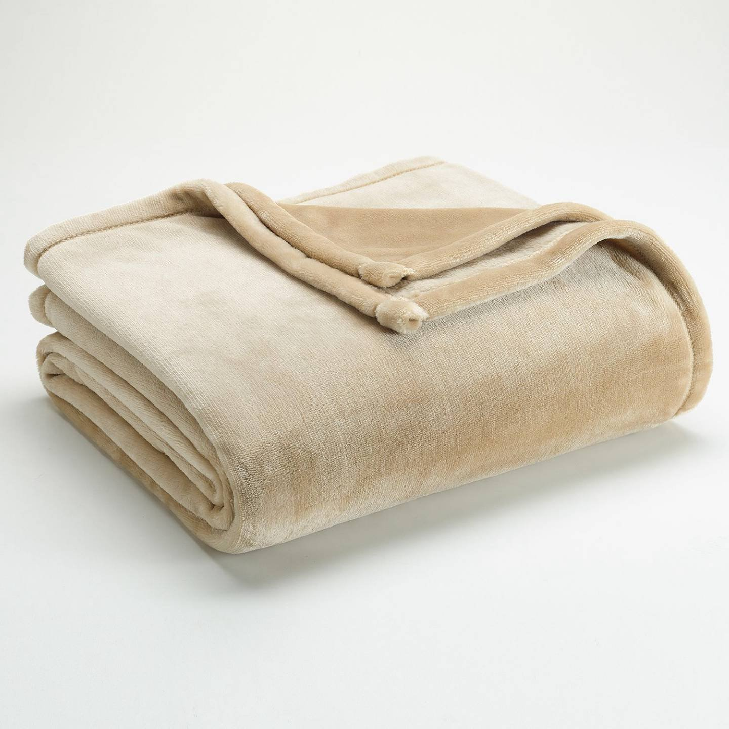 The Big One Super Soft Plush Throw Khaki by The Big One [並行輸入品] B00QFU2T9O