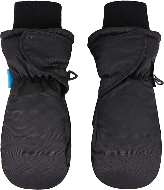 Lullaby Kids Snow Ski Gloves Thinsulate Insulation Waterproof Kids Winter Mittens